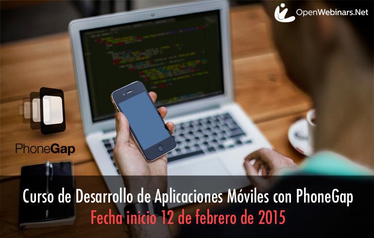 Aprende a desarrollar apps con Phonegap