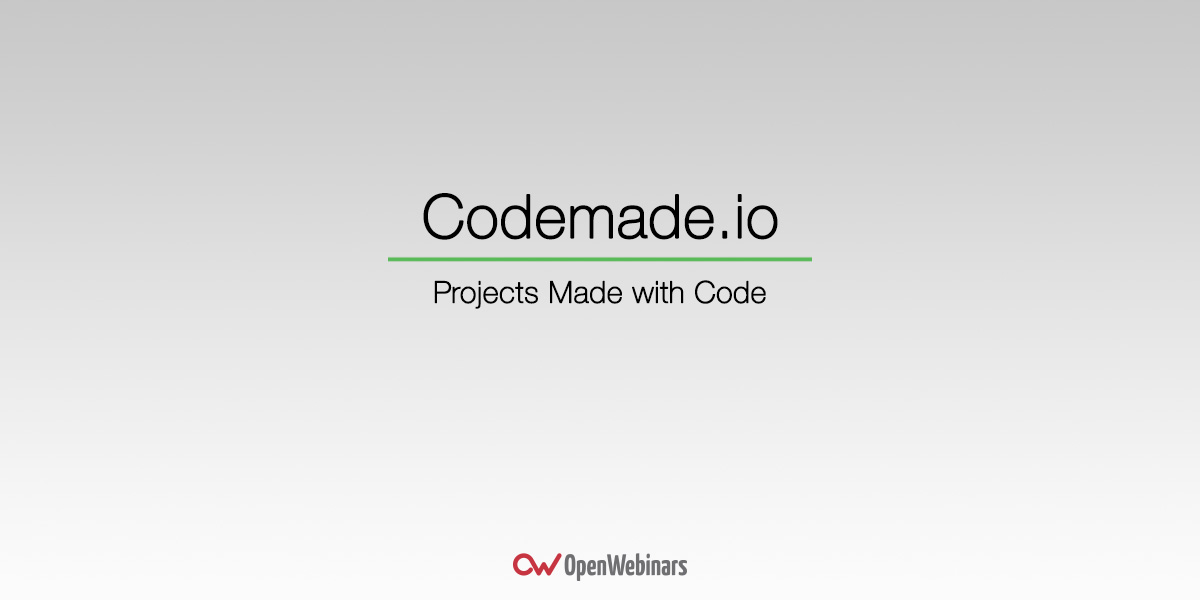 Codemade.io, la red social más visual para desarolladores