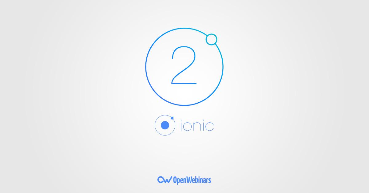 Ionic 2 presenta su versión final