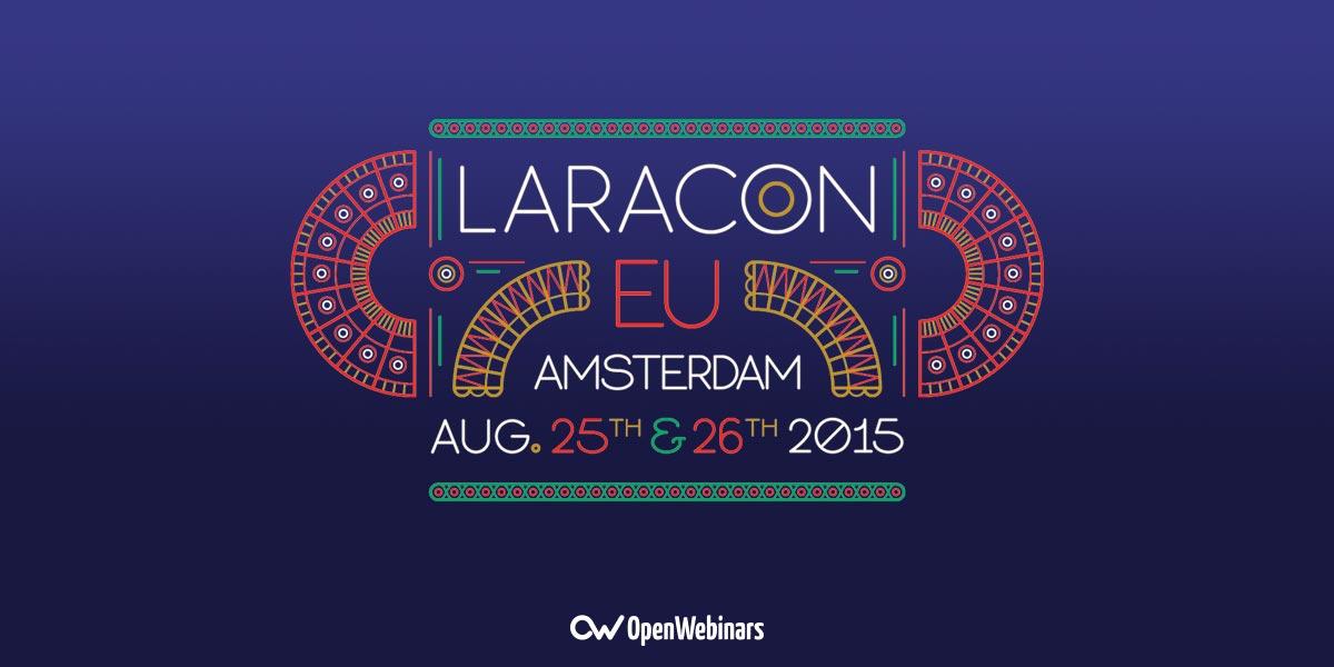 Todos los vídeos de la Conferencia Laracon EU 2015