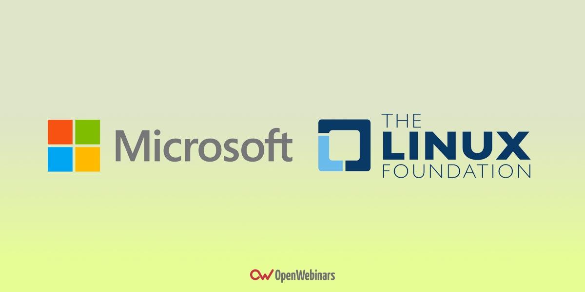 Microsoft entra en la Linux Foundation