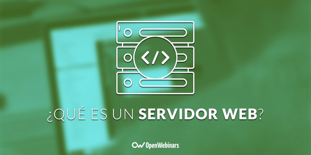 Qué es un servidor web