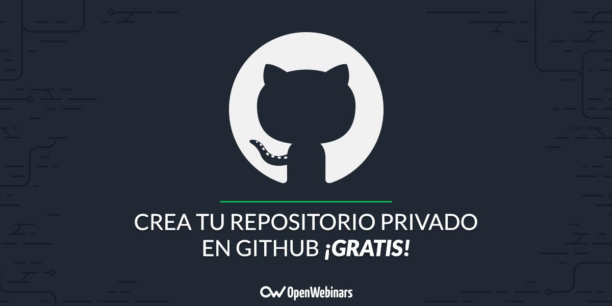GitHub ahora permite crear repositorios privados de forma gratuita: así puedes hacerlo