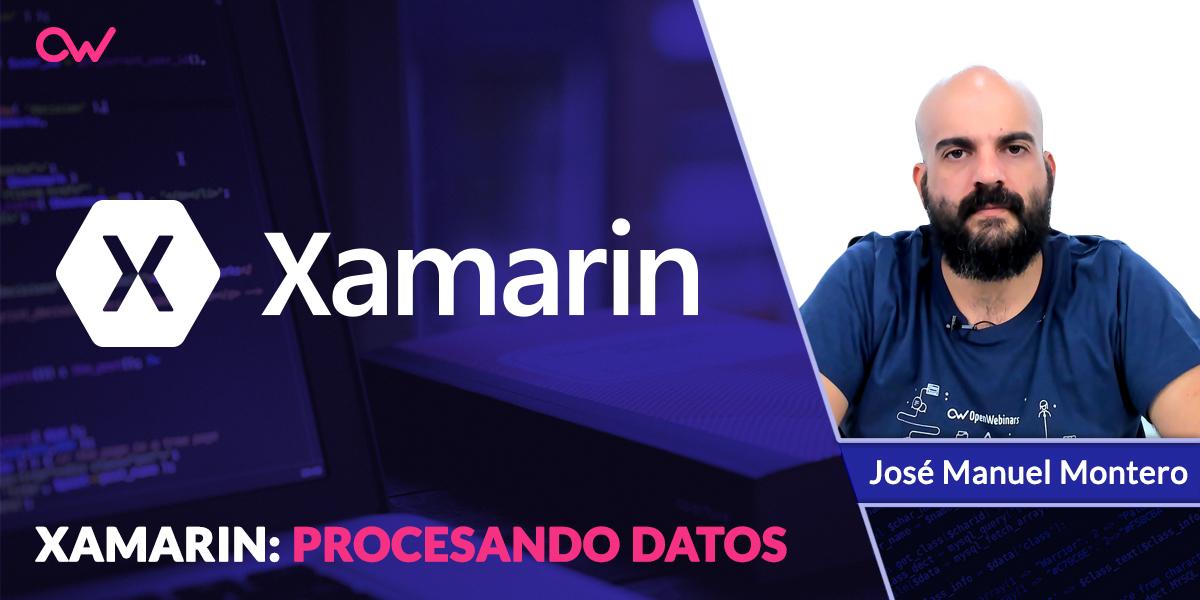 Procesar los datos con Xamarin