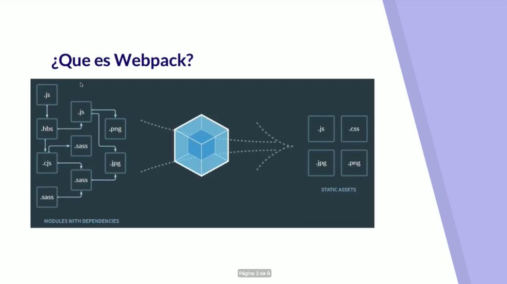 que es webpack