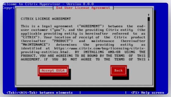 Imagen 4 en Cómo instalar Citrix Hypervisor