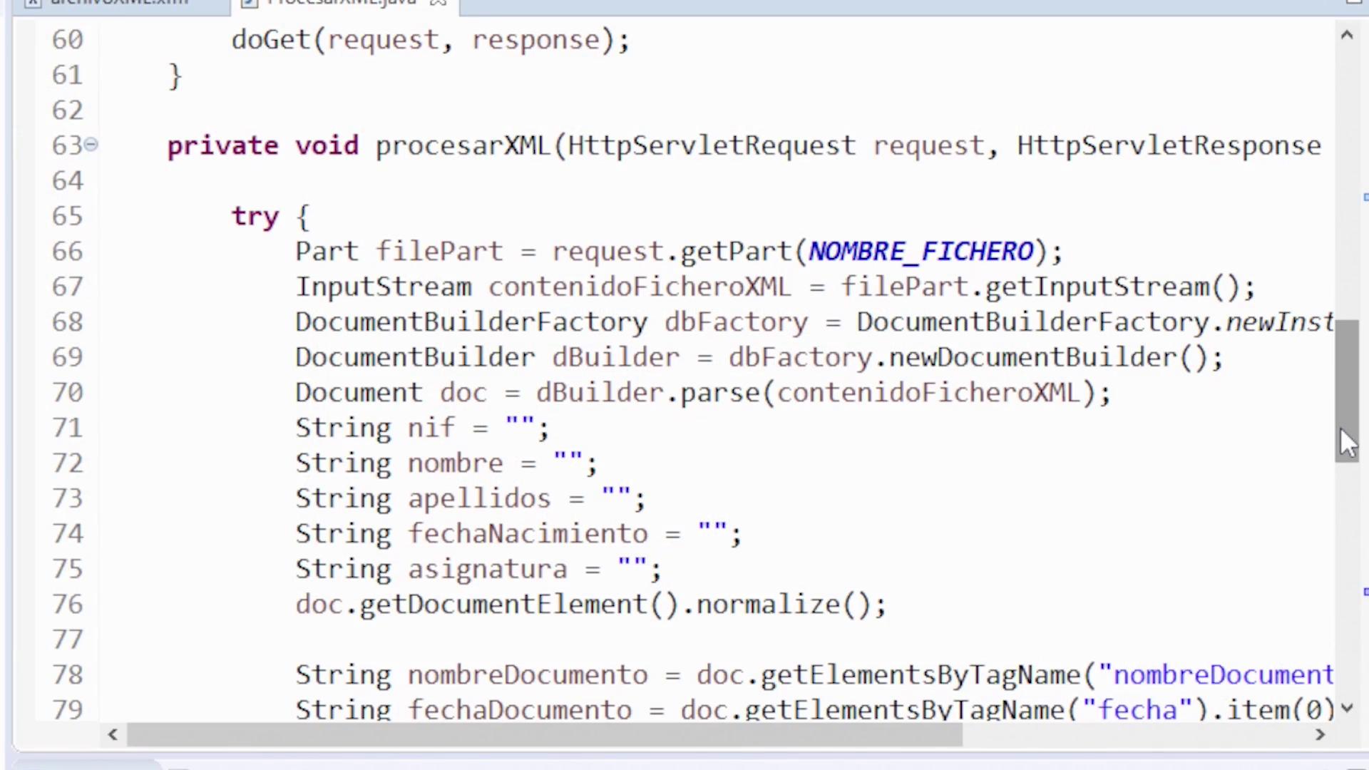 Imagen 0 en Cómo leer un fichero XML en Java
