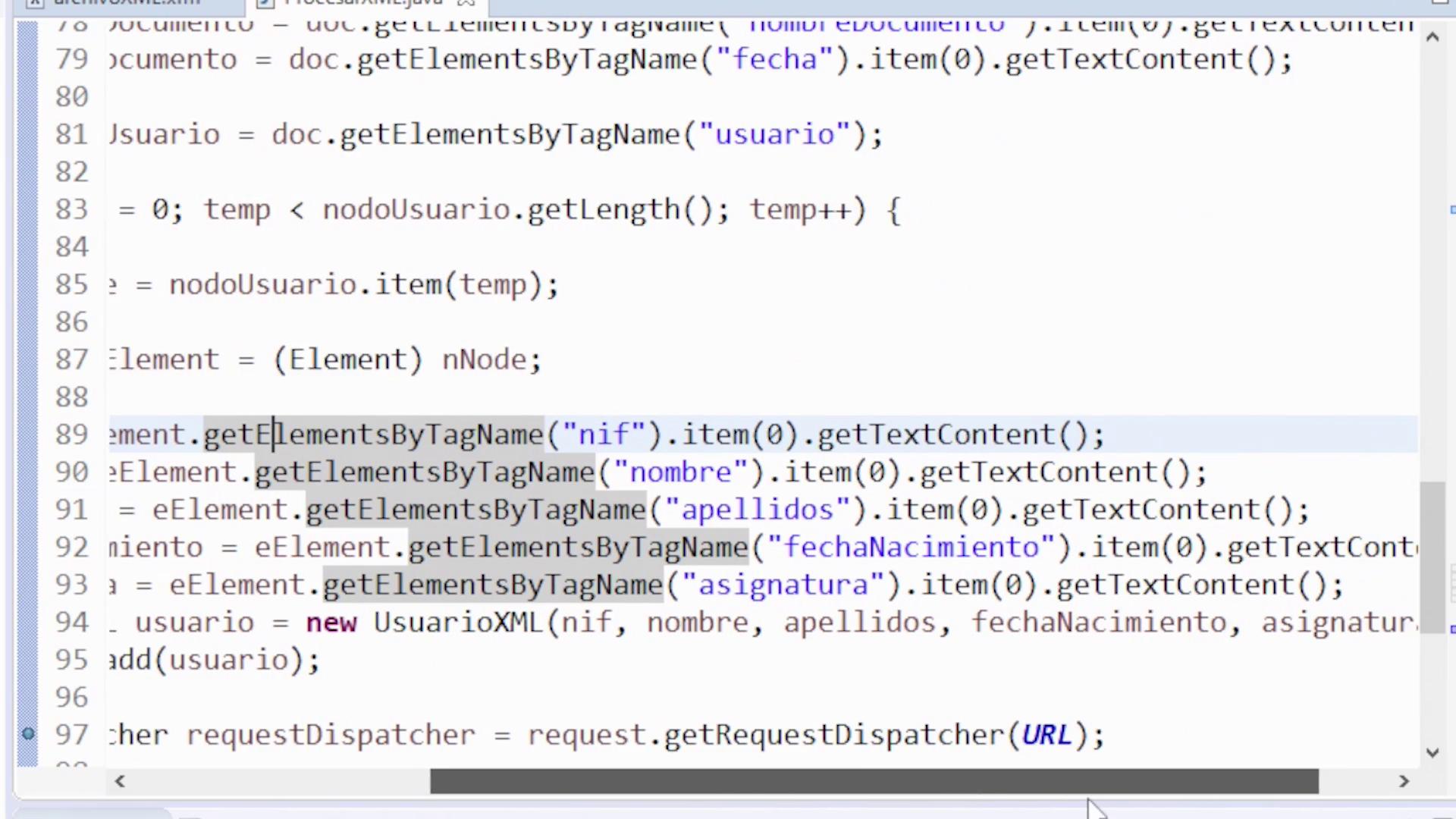 Imagen 4 en Cómo leer un fichero XML en Java