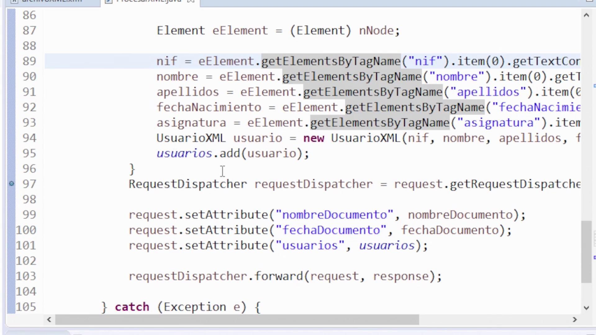 Imagen 5 en Cómo leer un fichero XML en Java