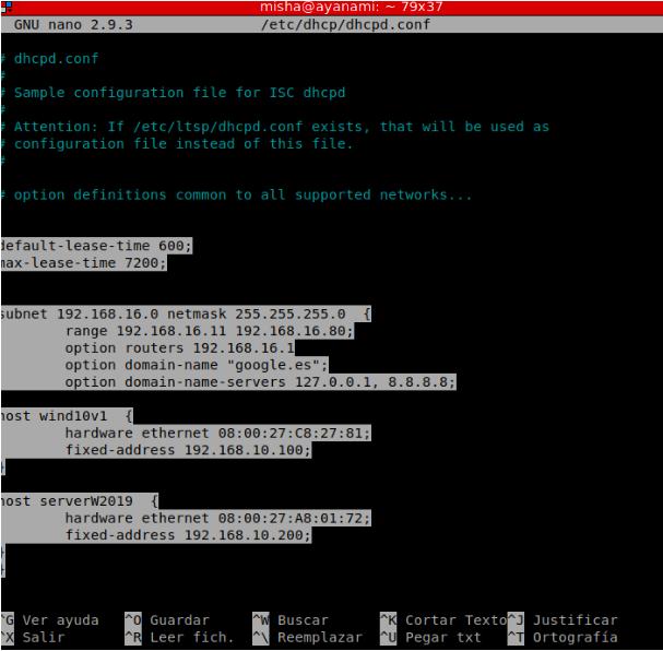 Imagen 1 en Cómo habilitar y configurar un Servidor DHCP